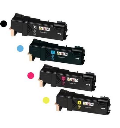 ΣΥΜΒΑΤΟ SET TONER XEROX Phaser 6500, 106R01597, 106R01594, 106R01596, 106R01595, BL / CY / YL / MG