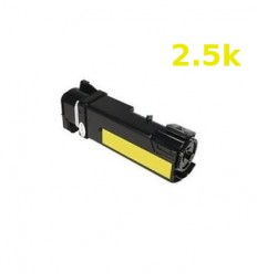 ΣΥΜΒΑΤΟ TONER XEROX PHASER 6500N, WORKCENTRE 6505N, 106R01596, 2.5K, 2.500 pgs, Yellow