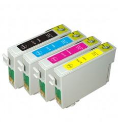 ΣΥΜΒΑΤΟ SET INKJET T0711, T0712, T0713, T0714, STYLUS D78, D92, D120, DX4000, DX5000, DX6000, DX7000, DX8450, DX9400F
