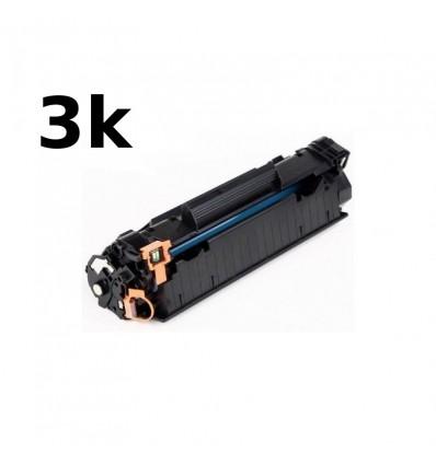 ΣΥΜΒΑΤΟ TONER CE285XL, 3K, 3.000 pgs, HP LaserJet Pro P1102, P1102w, M1130, M1132, M1212nf, M1217nfw, LBP6000, LBP6018, BLACK