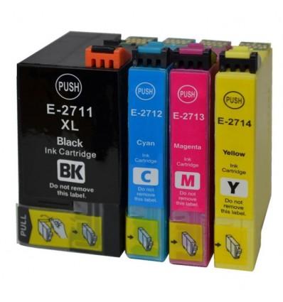 ΣΥΜΒΑΤΟ SET INKJET EPSON 27XXL, T2711, T2712, T2713, T2714