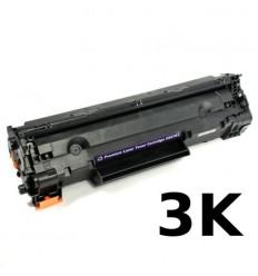 ΣΥΜΒΑΤΟ TONER CE278X, 78X, 3K, 3.000 pgs, HP LaserJet Pro P1569, P1566, P1601, P1606dn, M1536, BLACK