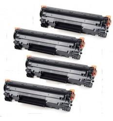 4 TONER ΣΥΜΒΑΤΑ CF279X, 79X, 8.800PGS, 8.8K, HP LASERJET PRO MFP M26A, M26NW, PRO M12A, M12W, BLACK